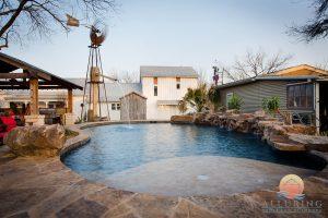 free form pool